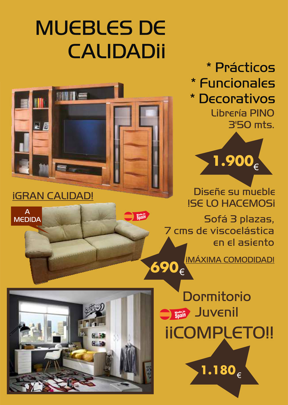 Muebles descuento obtenga ideas dise o de muebles para for Compra de muebles